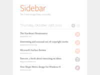 Say hello to Sidebar!