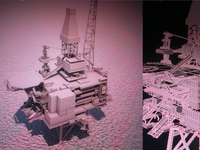 Oil Rig - facebook.com/renderpimp