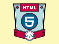 HTML 5 Skills Badge Icon