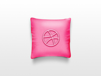dribbble pillow