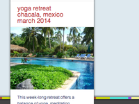 Boler Yoga Retreats promo