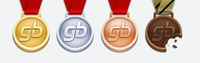 Gamer's Band Medals