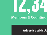 Presslist Subscriber Count & Advertise CTA