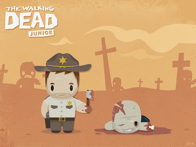Walkingdead Dribbble Hd