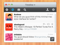 Mini Twitter for Mac