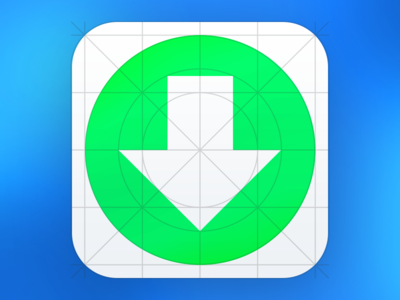 Download iOS 7 Grid System Icon Template