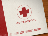 Courier Doc (logo and biz card)