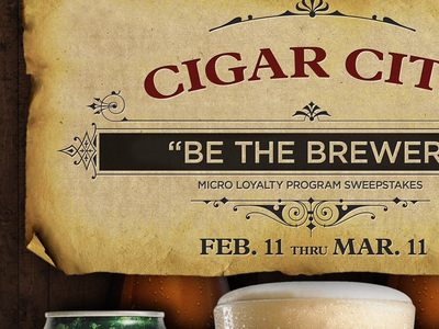 Cigar City Brewing / WOB poster