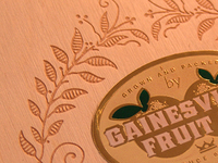 Gainesville Fruit Co - Notecard box set