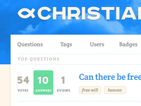 Christianity StackExchange site