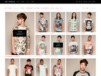 Drop Dead Clothing Product Page