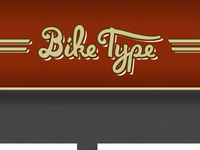 Bike Type Logo