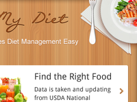 Diet Management Tool for Android Devices