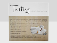 Tasting Kit Sleeve Back