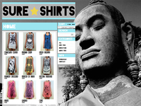 www.sureshirts.com (Full Screen Shots)