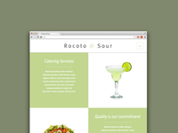 Rocoto & Sour - Website