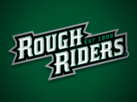 Cedar Rapids RoughRiders Word-Mark Logo