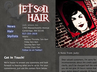 Hair Salon Website Revamp after Salon Renovation