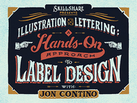 Skillshare Class: Hands-On Label Design