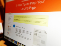9 Killer Tips to Pimp your Landing Page