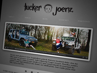 Tucker Joenz Photography Site Design