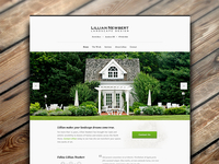 Homepage, Lillian Newbert Landscape Design