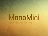 MonoMini, Growl Theme