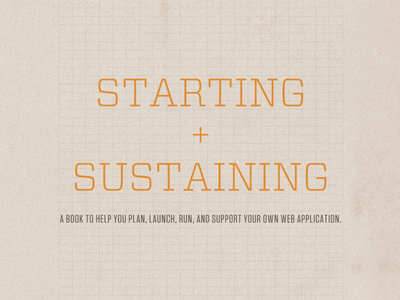 Starting + Sustaining