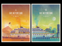 Dave Matthews Band // West Palm Beach, FL Poster Series