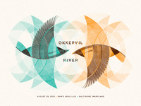 Okkervil River // Baltimore, MD Poster