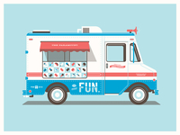 Fun's Seattle Ice Cream Truck