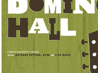 Denton Domino Hall Poster 1
