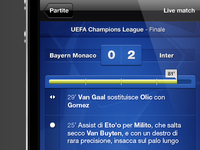 Live Match iPhone
