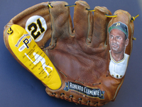 Painted Glove featuring Roberto Clemente