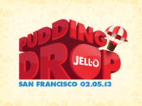 Jell-O Pudding Drop Logo