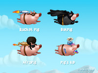 Flying pigs (android game)