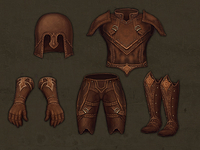 4 armor sets for a game