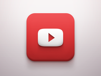 YouTube iOS Icon