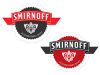Smirnoff Extraordinary Badge