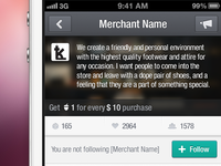 Merchant Profile