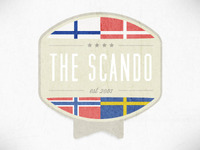Scando Badge Dribbble