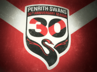 Penrith Swans 30th Anniversary Patch