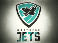 Northern Jets Aussie Rules Logo