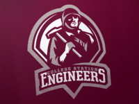 The College Station Engineers Primary Logo