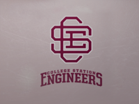 The College Station Engineers Secondary Logo