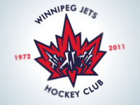 Winnipeg Jets Logo White