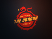 Snooker Logos: Matthew 'The Dragon' Stevens