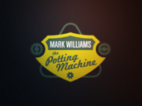 Snooker Logos: Mark 'The Potting Machine' Williams