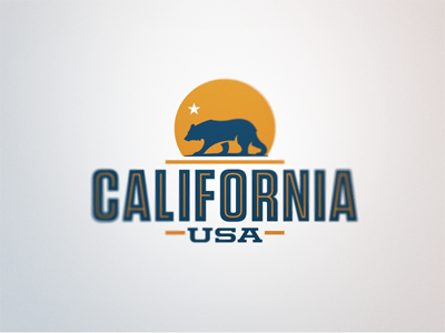 california logo design