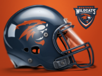 Wildcats Helmet Progression